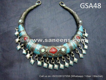 afghan muslim handmade jewelry necklace