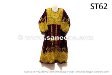 Kuchi Afghan Women Vintage Dress Gypsy Handmade Frock Costumes