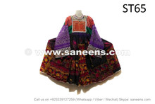 Gypsy Fashion Vintage Dress Tribal Artwork Ethnic Frock