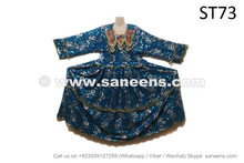Buy New Design Kuchi Tribal Clothes Dress With Sequin Work