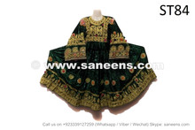Afghan Vintage Dress Tribal Fashion Ethnic Clothes Frock Maxi
