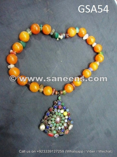 tribal nomad antique beads