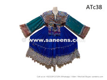 afghan kuchi vintage coins dress