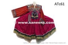 afghan kuchi dress with tassels