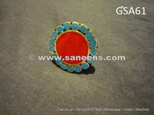 handmade kuchi tribal ring