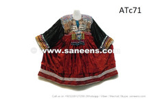 afghan kuchi coins dress in velvet fabric