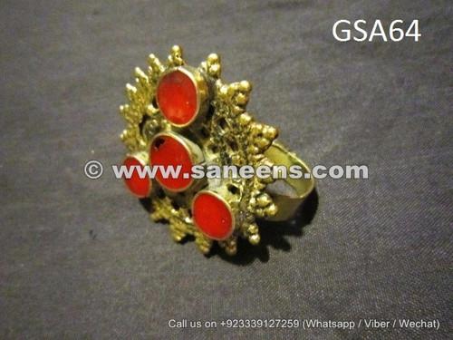afghan muslim ladies handmade ring