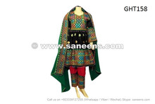 afghan muslim ladies wedding event black dress frock