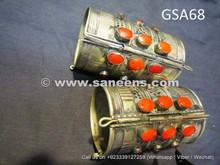 bellydance performance large cuffs, kuchi jewellery bracelets