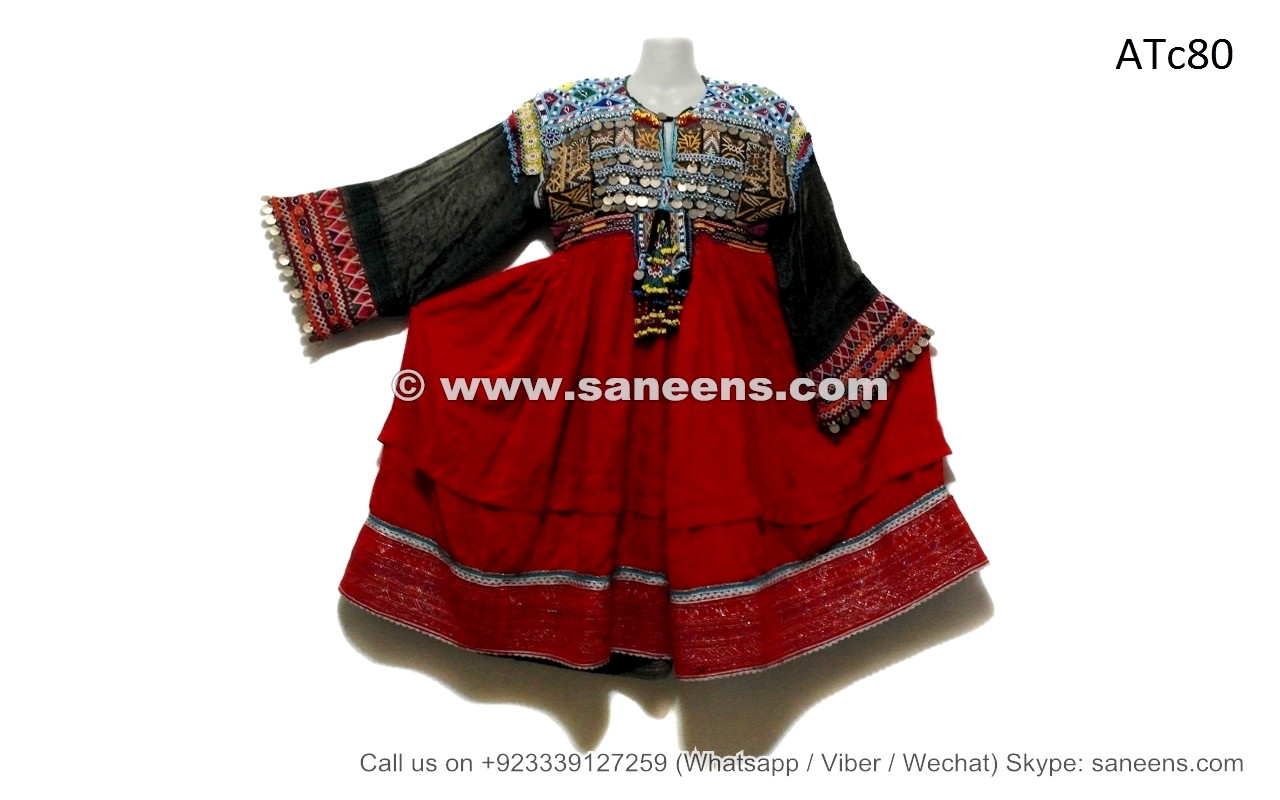 befb8fc521 balochi tribal kuchi coins afghan bridal vintage wider skirted dresses  frocks apparels costumes clothes online