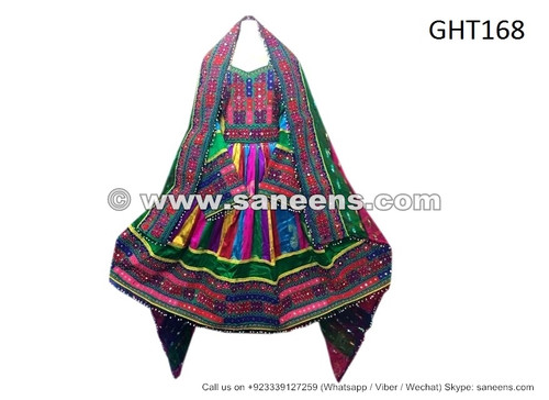 afghan pashtun singer dresses, wholesale saneens tribal clothes frocks