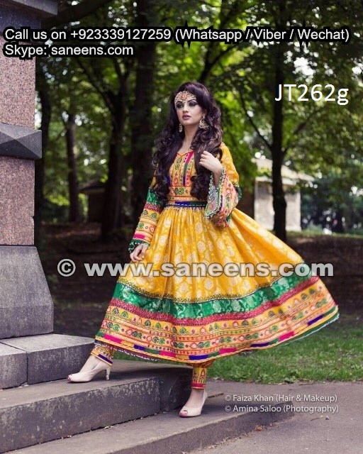 325d1b52a9 wholesale afghan fashion yellow gowns clothes persian pashtun singer dresses  frocks