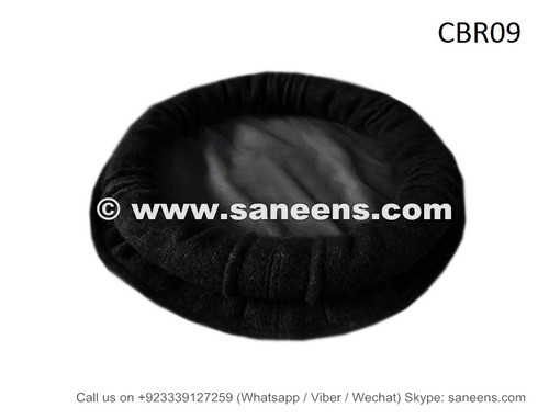Buy Black Color Chitrali Cap Pakol Cairo Bellydance Woolen Hat