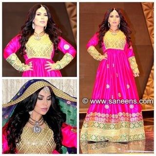 aryana sayeed dress, afghan clothes