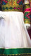 afghani dress in white color