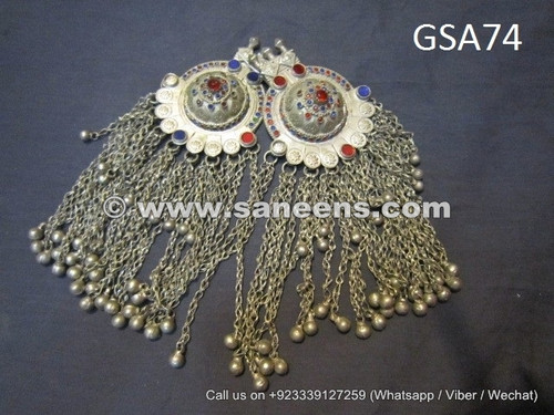 afghan tribal pendants, kuchi tribal artwork kishaf pendants online