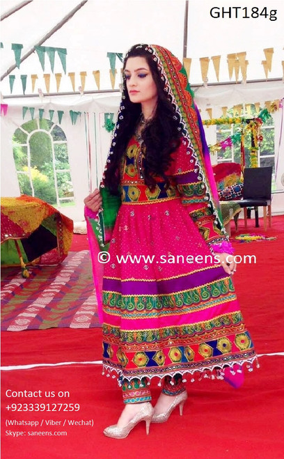 afghan clothes, afghan clothing