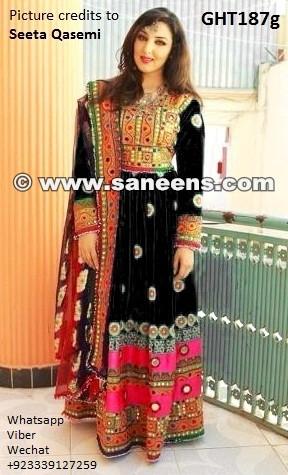 seeta qasemi, afghan clothes, afghani dress