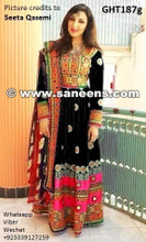 seeta qasemi, afghan clothes, afghani dress