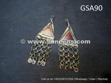 afghan tribal earrings