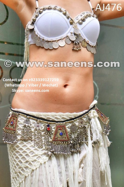 afghan jewellery hip wrap