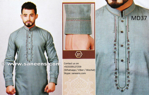 mens fashion new design afghani dresses