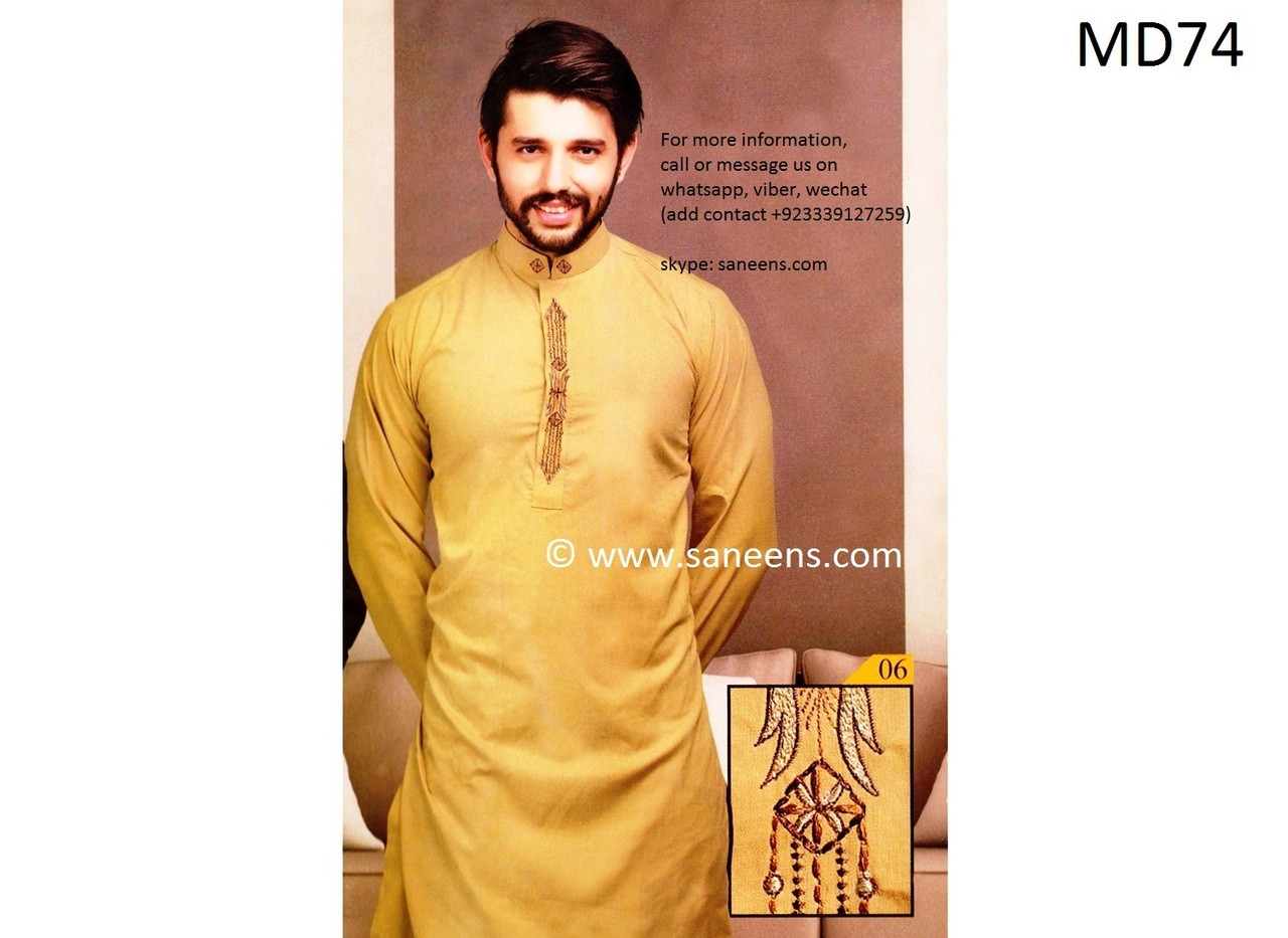 Pakistani Clothes Mens Salwar Kameez Afghani Dress For Men