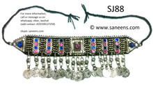 afghan jewelry, muslimah fashion necklaces