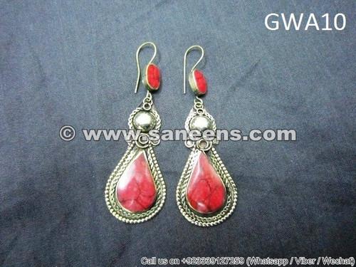 kuchi jewellery earrings