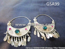 kuchi jewellery ethnic earrings