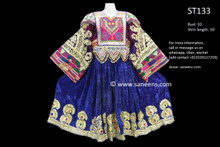 afghan clohtes, kuchi vintage dress