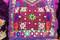 nomad women ethnic dress with hand needlework