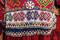 gypsy women ethnic dress with beaded waist belt