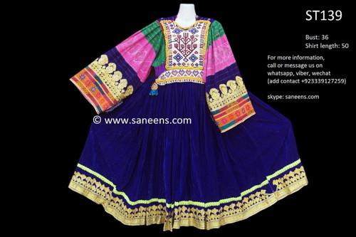 afghan clothes, kuchi vintage dress