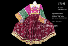 afghani dress, kuchi banjara clothes
