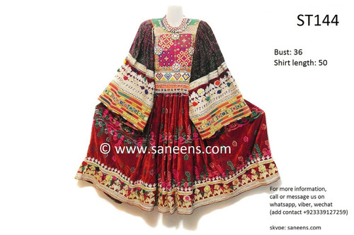 afghani dress, afghan clothes