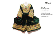 afghan clothes, vintage kuchi frock