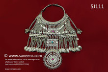 afghan jewelry, kuchi necklace