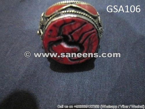 kuchi tribal jewellery ring