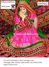 afghan clothes, pashtun bridal dress
