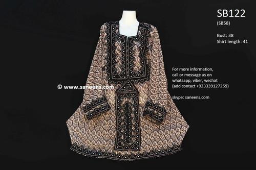 balochi clothes, vintage pathani dress