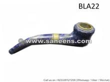 afghan muslim handmade lapis stone smoking pipe