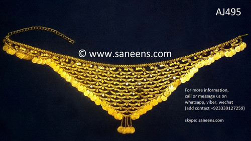 afghan jewelry, kuchi fashoin long belt