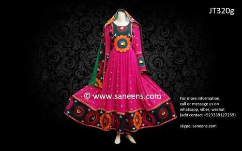 afghan clothes, pashtun bridal dress