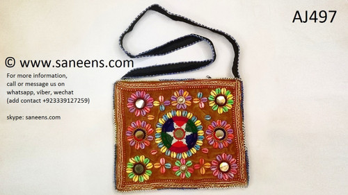 afghan bag, kuchi tribal purse