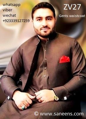 pakistan fashion, pashtun men vest