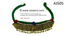afghan ethnic jewelry, kuchi banjara necklace