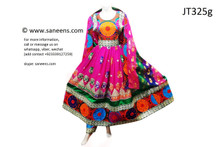 afghan clothes, pashtun singer long gown
