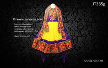 afghan clothing, pashtun bridal frock