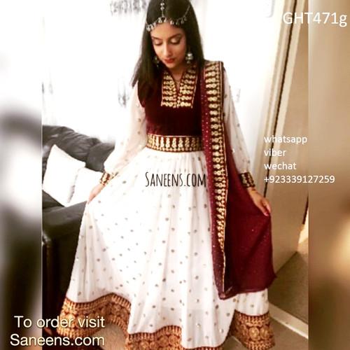 afghan clothing, muslim nikah outfit, pashtun singer costume